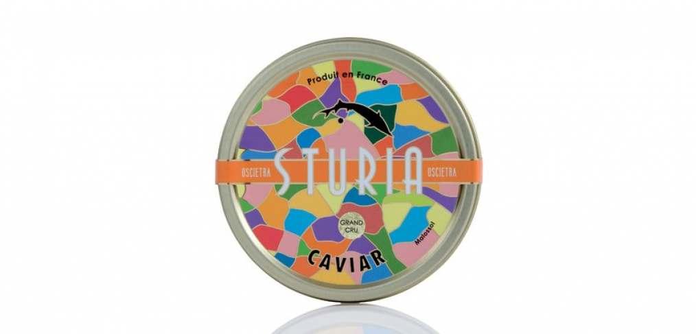 caviar sturia o saumon