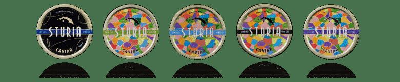 Sturia collection O Saumon