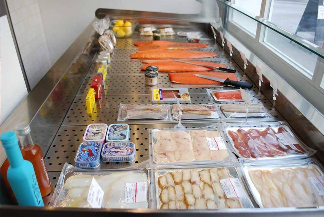 Vitrine saumon nantes