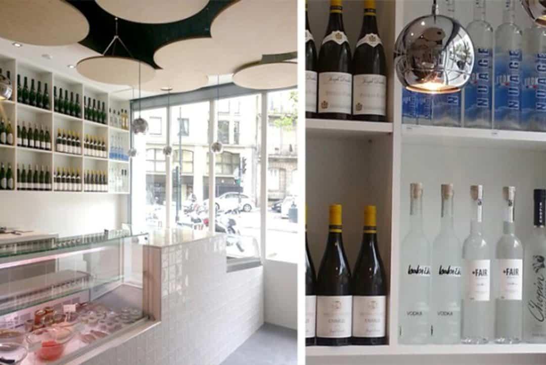 les alcools magasin o-saumon Nantes