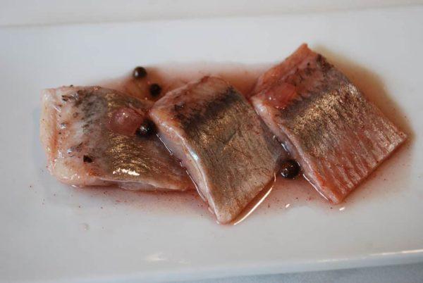 harengs marines aux épices douces