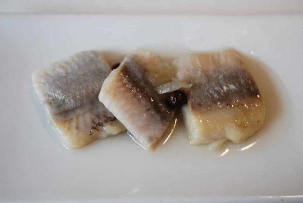 harengs marinés aux oignons