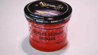 Oeufs de saumon sauvage