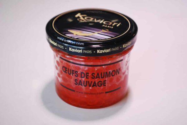 oeufs saumon sauvage
