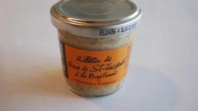 Rillettes de noix de st jacques à la bretonne