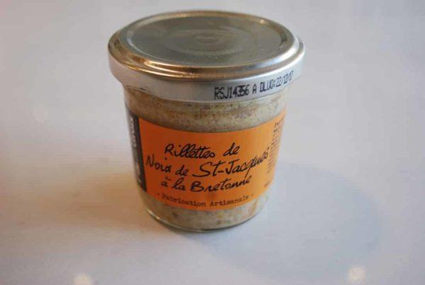 rillette de noix de st jacques a la bretonne