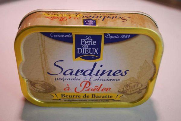 sardines à poeler au beurre de barrate