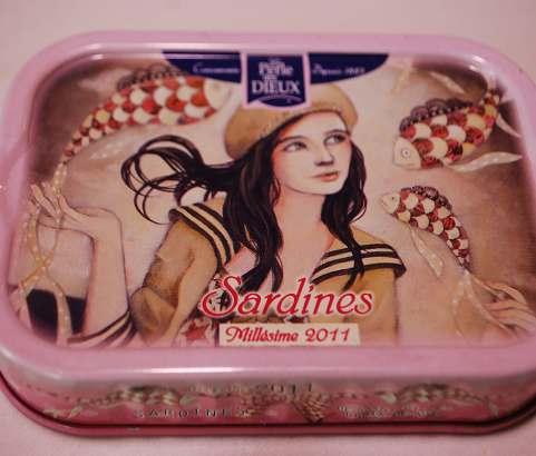 Sardines millésime 2011