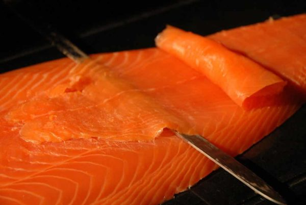 saumon fume irlandais bio