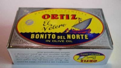 Filet de thon Geron à l'huile d'olive
