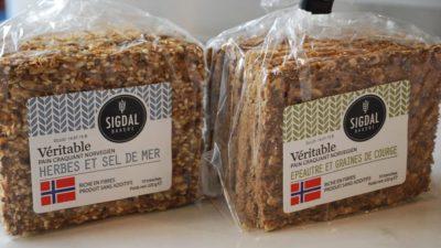 Pain craquant norvégiens aux graines