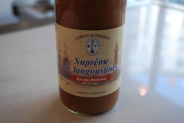 suprême langoustines