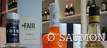 Eaux vins alcool o saumon Nantes