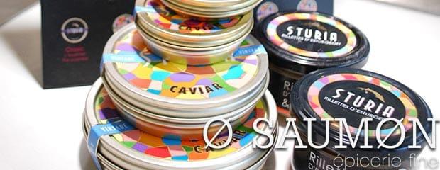 Le caviar o saumon Nantes